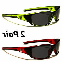 2 Pair Polarized Nitrogen Men Anti Glare Fishing Driving Spo