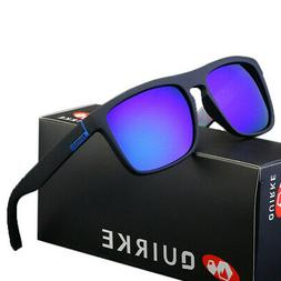 QUIRKE 7 Colors Polarized Mens Sunglasses Outdoor Sports Fis