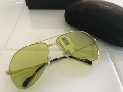 Authentic NEW Tom Ford – Wilder 62mm Oversized Aviator Sun