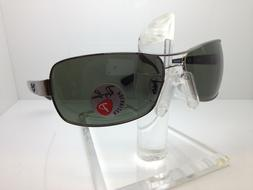 AUTHENTIC RAYBAN SUNGLASSES RB 3379 004/58 64MM RB 3379 POLA