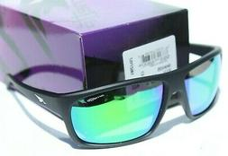 ARNETTE Burnout POLARIZED Matte Black/Green Grey Mirror Sung