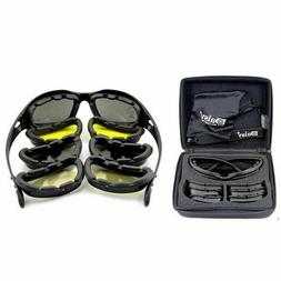 Daisy C5 Polarized Army Goggles Sunglasses Men Military Tact