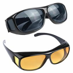 Fit Over Sunglasses Cover Glasses For Driving Fishing Golf