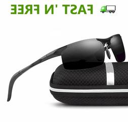 High Quality Men's Classic Polarized Sports Sunglasses, w/ G