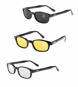 Pacific Coast Sunglasses KD's Biker Sunglasses 3 pack Smoke