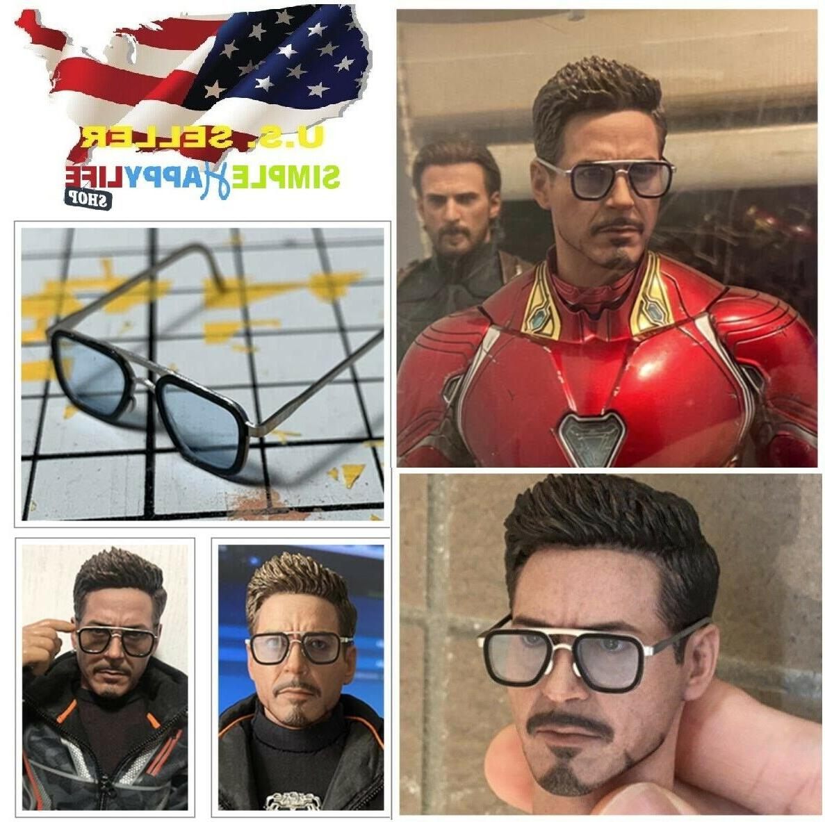 1 6 scale sunglasses metal for 12