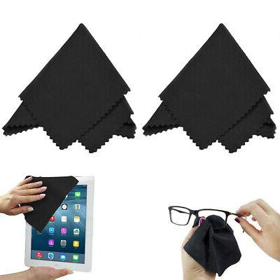 2 microfiber cleaning cloths eyeglass sunglass optical