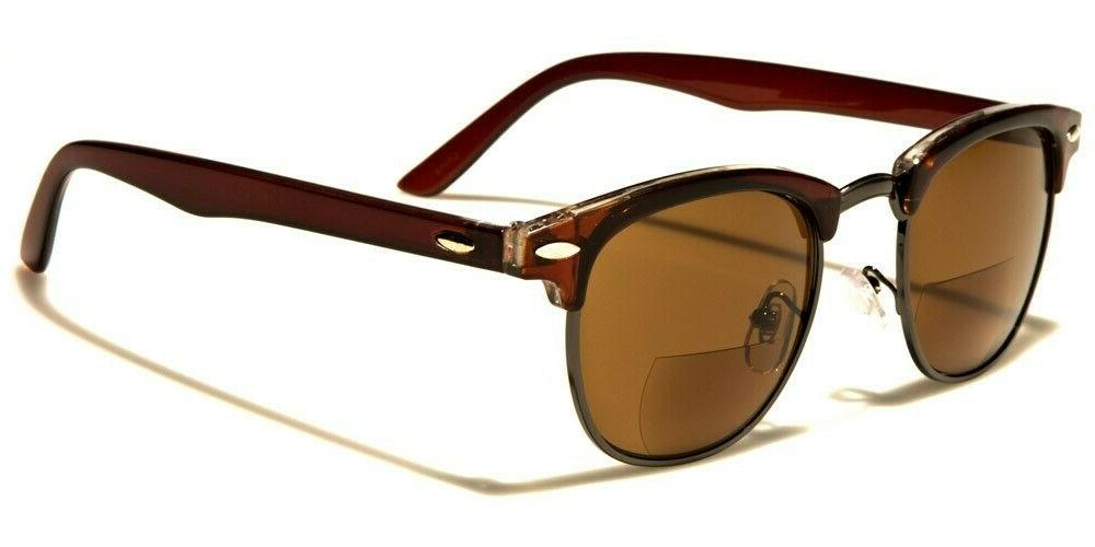 mens bifocal sunglasses readers club master style