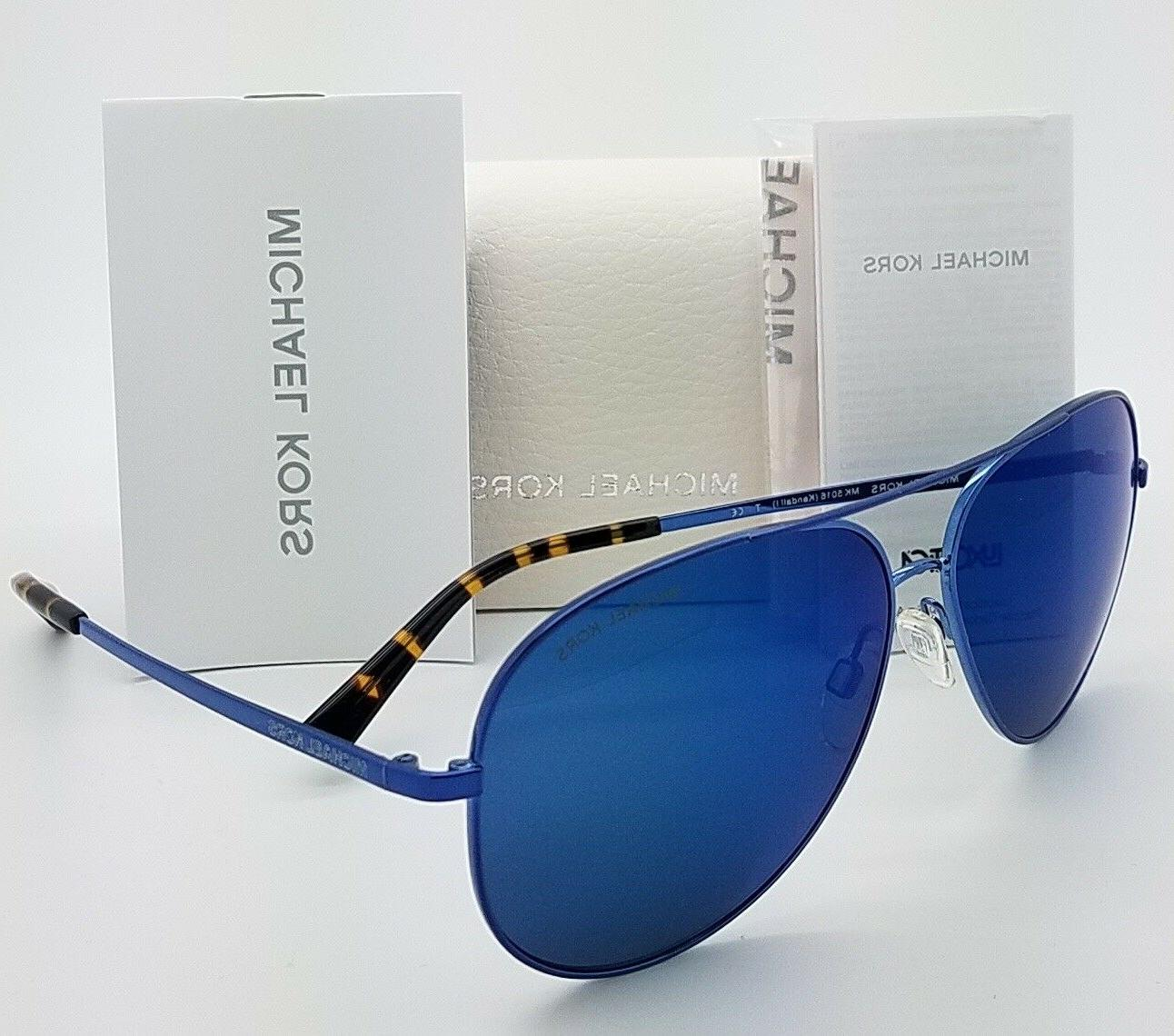 new sunglasses mk5016 117355 60mm black blue