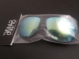 Kush Mens color mirrored sunglasses blue/yellow New in Bag,