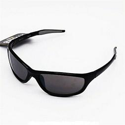 Foster Grant Mens Driving Wrap Sunglasses Coupe Arm Black Fr