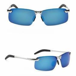Mens Polarized Driving Aviator Sunglasses with UV400 Protect