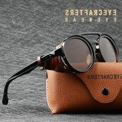 mens womens sunglasses vintage steampunk side shields