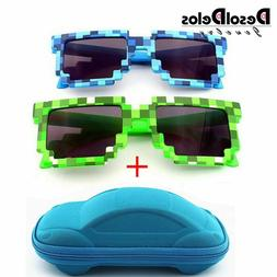 Minecraft Epic PIxel sunglasses novelty gaming accessories f