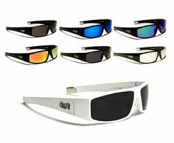 LOCS Sunglasses Sport Gangster Style Hardcore Shades Plastic