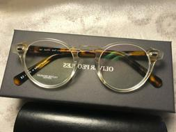 New OLIVER PEOPLES glasses OV5186 Gregory Peck 47 mm T.Gray