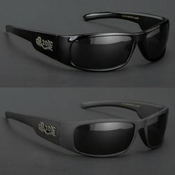 New Men Dark Lens Gangster Black Og Sunglasses Locs Biker Gl