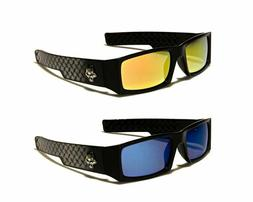 LOCS Sunglasses Gangster Style Hardcore Shades Sport Motorcy