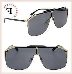 NEW Gucci Sensual Romantic GG 0291S Sunglasses 001 Gold 100%
