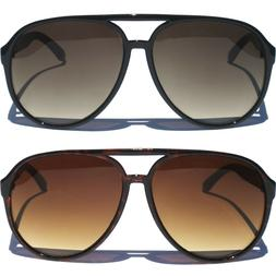 OVERSIZE AVIATOR SUNGLASSES Vintage Style Hipster Men Women