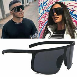 Oversized XXL Shield Sunglasses Outdoor Cycling Goggles Mens