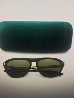 GUCCI Polarized Acetate Sunglasses With Case - Men's Made In