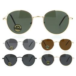 Polarized Lens Mens Trendy Hipster Dad Shade Round Oval Sung