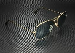 RAY BAN Aviator Large Metal RB3025 919262 Gold Lt Blue 62 mm