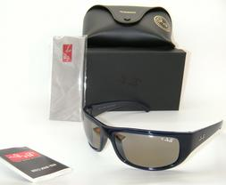 RAY-BAN BLUE POLARIZED SILVER MIRROR CHROMANCE SUNGLASSES RB
