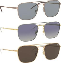 Ray-Ban Men's Vintage Style Metal Frame Square Sunglasses -