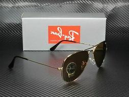 RAY BAN RB3025 001 33 Aviator Gold Crystal Brown 58 mm Men's