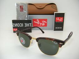 Ray-Ban RB3016 990/58 49MM Clubmaster Sunglasses