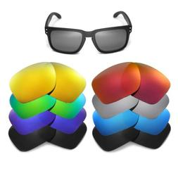 Walleva Replacement Lenses for Oakley Holbrook Sunglasses -
