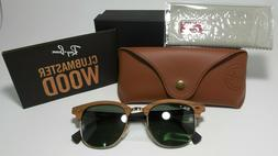 Ray-Ban Sunglasses, RB3016M 51 Wood Clubmaster