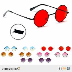 Sunglasses Lennon Men Women ROUND RETRO Vintage Style Hippie