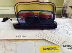 Gucci Sunglasses Rainbow Gg 0270 007 Made in Italy NWT CASE