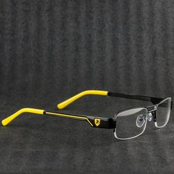Unisex Clear Lens Exotic Car Style Glasses 100 UV Protection